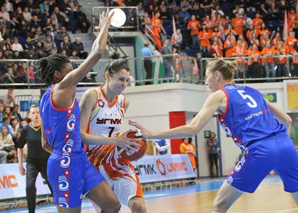 баскетбол, БК УГМК, Казаночка|Фото: БК УГМК