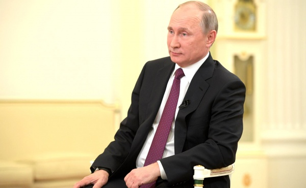 Владимир Путин|Фото: пресс-служба президента РФ