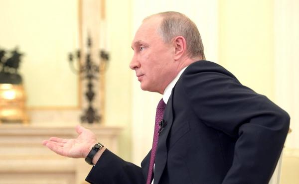 Владимир Путин Фото: пресс-служба президента РФ