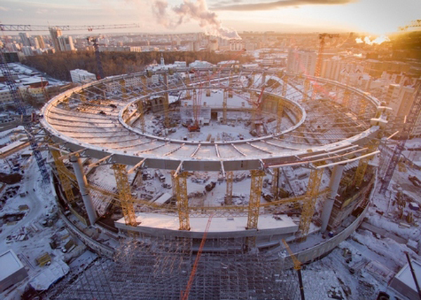 Екатеринбург, Центральный стадион, Екатеринбург-Арена|Фото: sinara-group.com