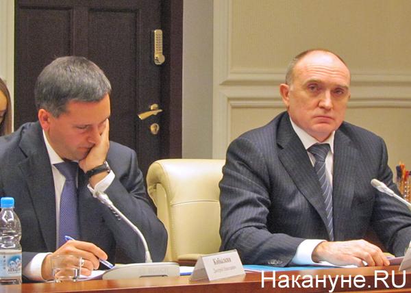 Дмитрий Кобылкин, Борис Дубровский, совещание в полпредстве|Фото: Накануне.RU