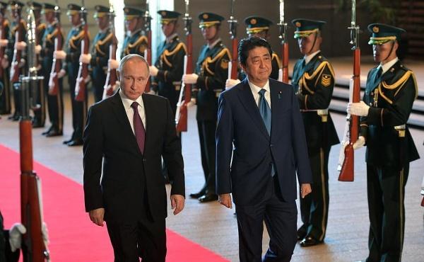 Владимир Путин, Абэ, Япония|Фото: kremlin.ru