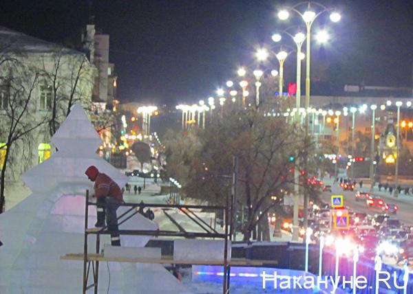 Екатеринбург, ледовый городок|Фото: Накануне.RU
