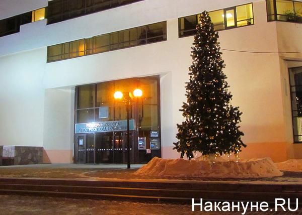 Екатеринбург, Екатеринбургская электросетевая компания, ЕЭСК, елка|Фото: Накануне.RU