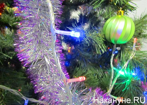 новый год, елка, гирлянда|Фото: Накануне.RU