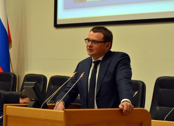 Дмитрий Еремеев, председатель Тюменской городской думы Фото: http://duma.tyumen-city.ru/