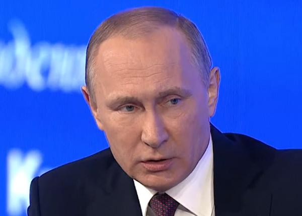 Владимир Путин, пресс-конференция|Фото: RT