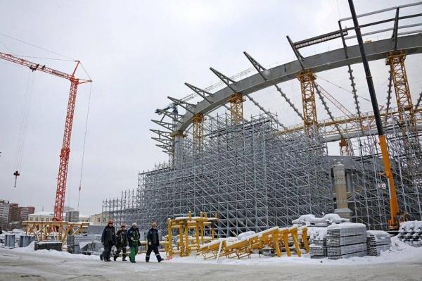 Центральный стадион, Екатеринбург-Арена Фото: Департамент информационной политики губернатора СО