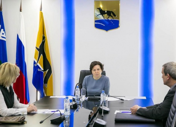 Наталья Комарова, встреча с сопредседателями ОНФ|Фото: http://www.admhmao.ru/