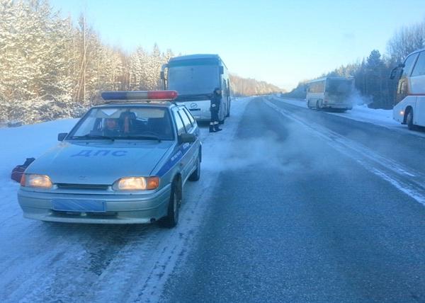 полицейские, автобус, мороз|Фото: ГУ МВД по Свердловской области