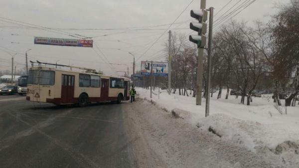 ДТП, троллейбус, Челябинск,|Фото: ГУ МВД по Челябинской области