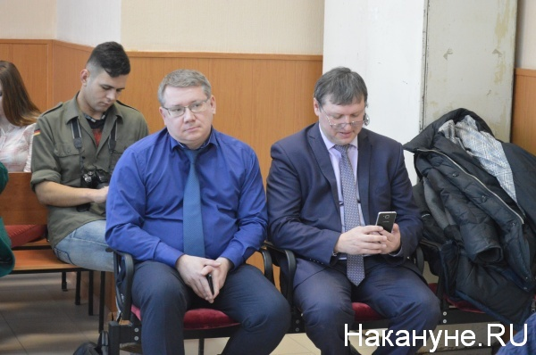 Александр Галиниченко, Борис Шалютин Фото:Накануне.RU