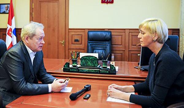 Владимир Басаргин, Ирина Ивенских Фото: perm.ru