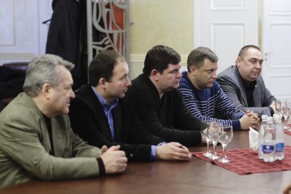 Захарченко, Плотницкий, Крым|Фото: Пресс-служба депутата ГД РФ Андрея Козенко