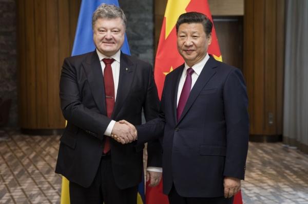 Петр Порошенко Си Цзиньпин|Фото: president.gov.ua