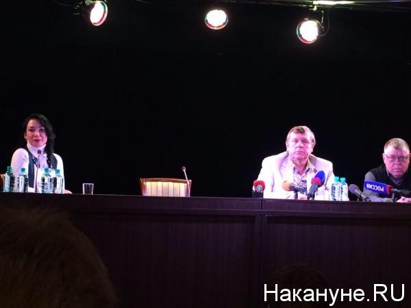 Александр Новиков пресс-конференция Фото: Накануне.RU