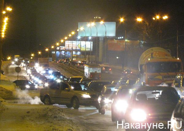 Малышевский мост, ЖБИ, пробка|Фото: Накануне.RU