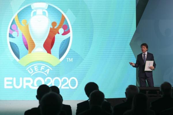 Евро-2020 эмблема Санкт-Петербурга|Фото: Михаил Шапаев РФС