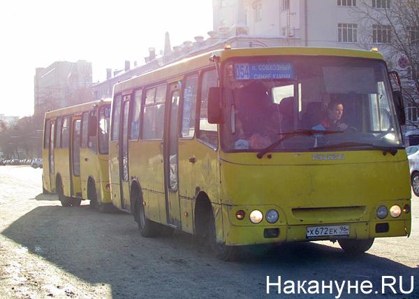 Екатеринбург, транспорт, общественный транспорт, маршрутка, маршрутки|Фото: Накануне.RU