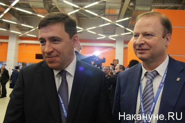 Евгений Куйвашев, Виктор Шептий|Фото: Накануне.RU