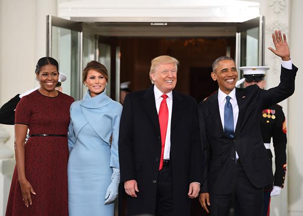 Дональд Трамп, США, инаугурация, Барак Обама|Фото: AFP/Jim Watson