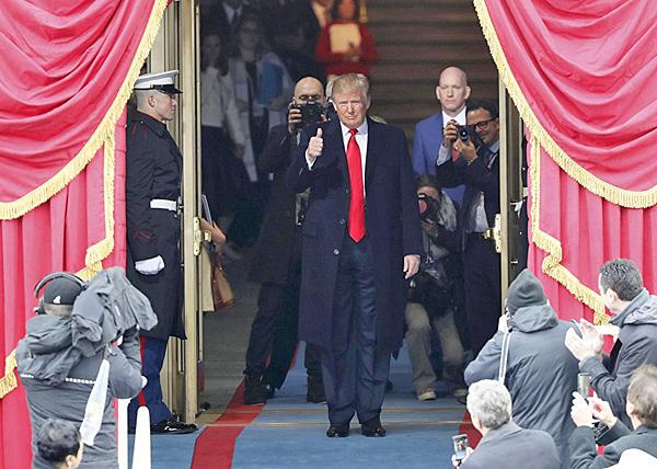 Дональд Трамп, США, инаугурация(2017)|Фото: REUTERS/Carlos Barria