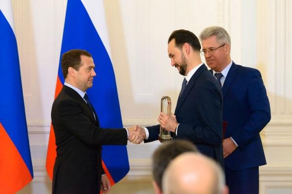 ВТЗ премия Дмитрий Медведев|Фото: ТМК