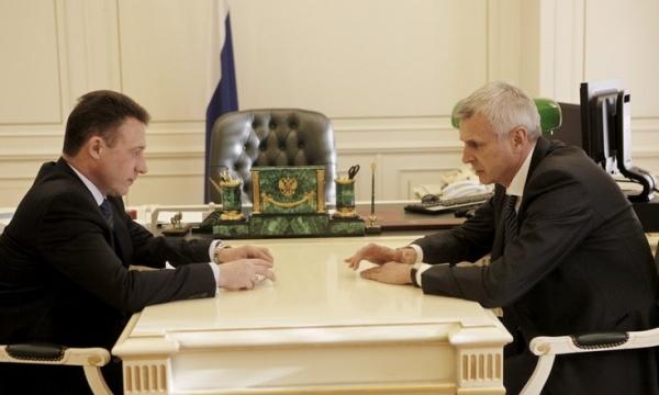 Игорь Холманских, Сергей Носов|Фото:http://uralfo.gov.ru/