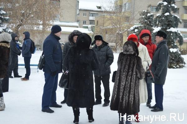 митинг, Шадринск, энерготарифы Фото:Накануне.RU