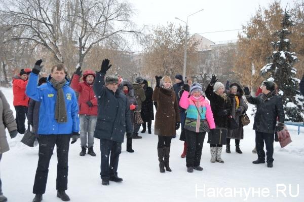 митинг, Шадринск, энерготарифы|Фото:Накануне.RU