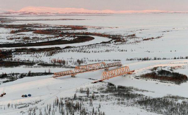 Северный широтный ход, надымский мост Фото: правительство.янао.рф