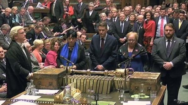 Британский парламент голосует за выход из ЕС Фото:http://www.bbc.com