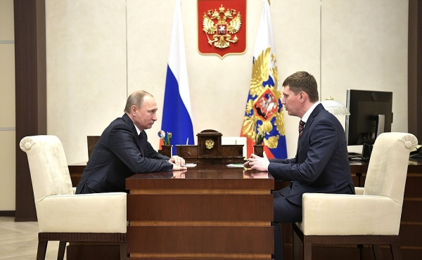Максим Решетников Фото: пресс-служба Кремля