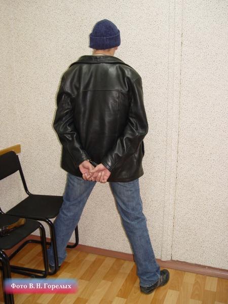 задержанный лихач Фото: В.Н. Горелых