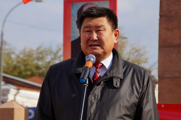 Вячеслав Мархаев, лидер КПРФ в Бурятии|Фото: burkprf.ru