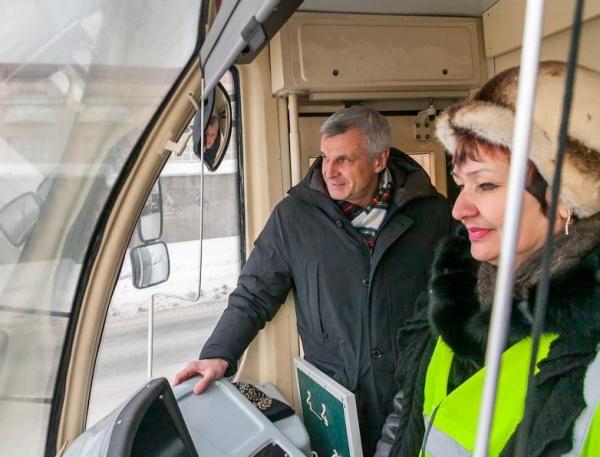 трамвай Сергей Носов Фото: администрация Нижнего Тагила