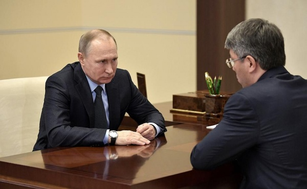 Владимир Путин Алексей Цыденов|Фото: пресс-служба президента РФ