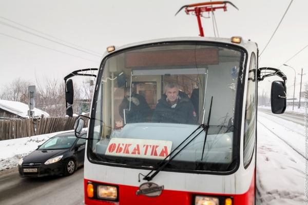 носов, трамвай, нижний тагил,обкатка Фото:пресс-служба администрации Нижнего Тагила