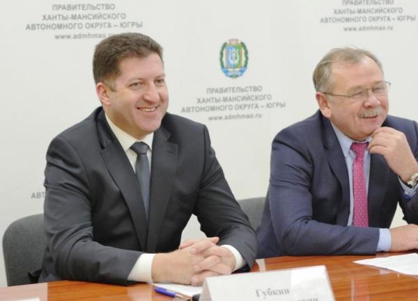 Игорь Губкин, Владимир Малышкин|Фото: ЮграМегаСпорт