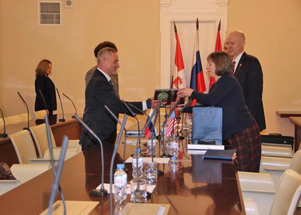 Пермь, встреча с Линн Трейси, посол, США Фото: gorodperm.ru