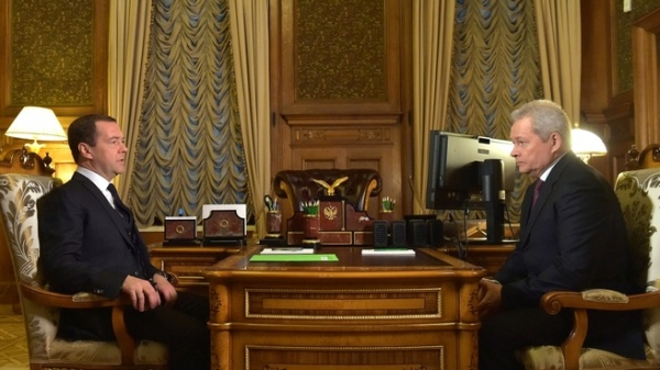 Дмитрий Медведев, Виктор Басаргин|Фото: Накануне.RU