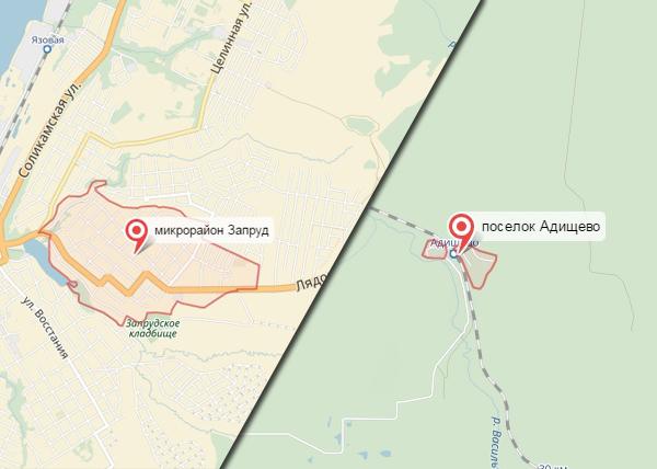 карта конфликтов Пермского края, Адищево, Запруд|Фото: Накануне.RU
