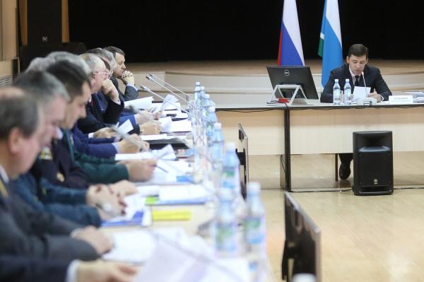 Евгений Куйвашев Фото: Департамент информационной политики губернатора СО