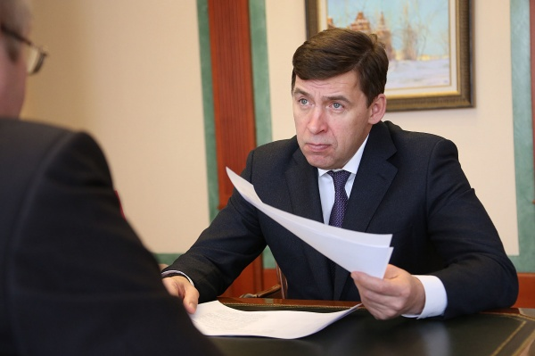 Евгений Куйвашев, встречи с главами Фото: Департамент информационной политики губернатора СО