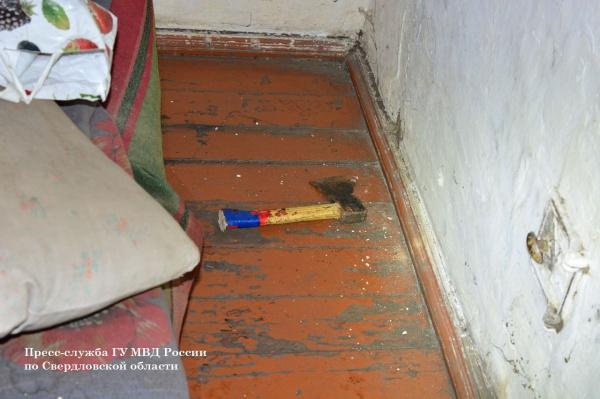 топор, орудие убийства|Фото: ГУ МВД по СО