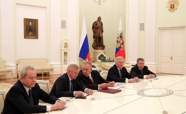 Басаргин, встреча Путина с губернаторами|Фото: kremlin.ru