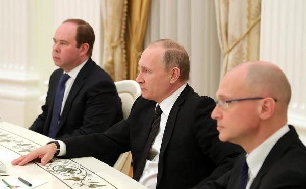 Вайно, Путин, Кириенко|Фото:  kremlin.ru
