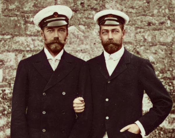Георг V и Николай II|Фото: historytime.ru