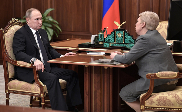Владимир Путин, Ольга Васильева|Фото: kremlin.ru