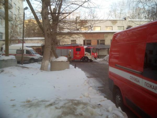 ГКБ №1, задымление, эвакуация, Екатеринбург Фото: ГУ МЧС России по Свердловской области
